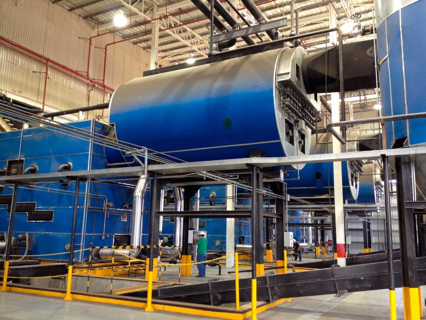 Steam for Textile Industry | Justsen Energiteknik A/S