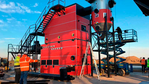Installation of Biomass Fueled Boiler System in United Kingdom